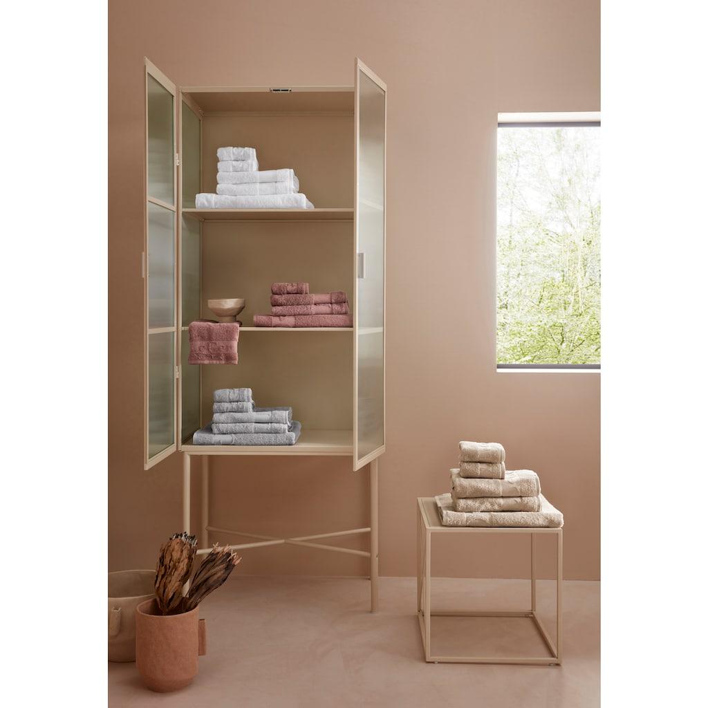 LeGer Home by Lena Gercke Handtuch Set »Anisa«, mit Markenschriftzug auf der Bordüre