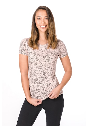 SUPER.NATURAL T-Shirt »W BASE TEE 175 PRINTED«, funktioneller Merino-Materialmix kaufen