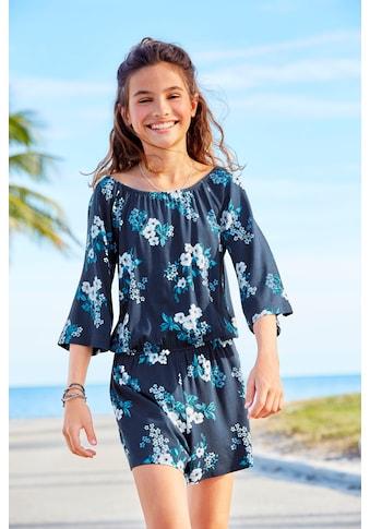 Arizona Overall, mit Blumendruck kaufen