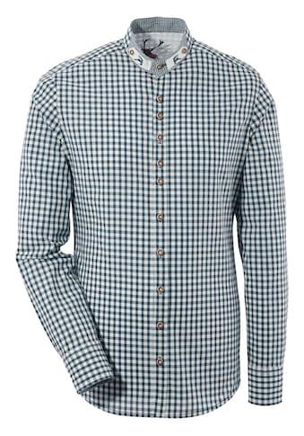OS - Trachten Trachtenhemd im Karodesign kaufen