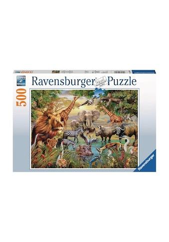 Ravensburger Puzzle »Am Wasserloch« kaufen