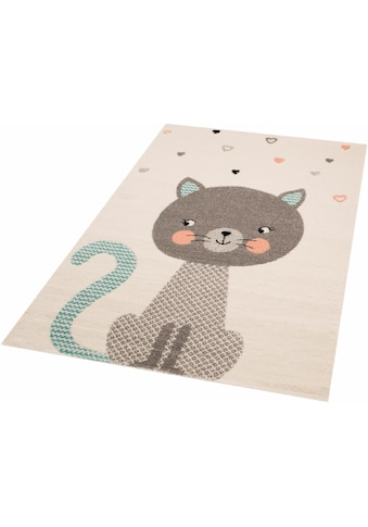 Kinderteppich, »Cat Alex«, Zala Living, rechteckig, Höhe 8 mm, maschinell gewebt kaufen
