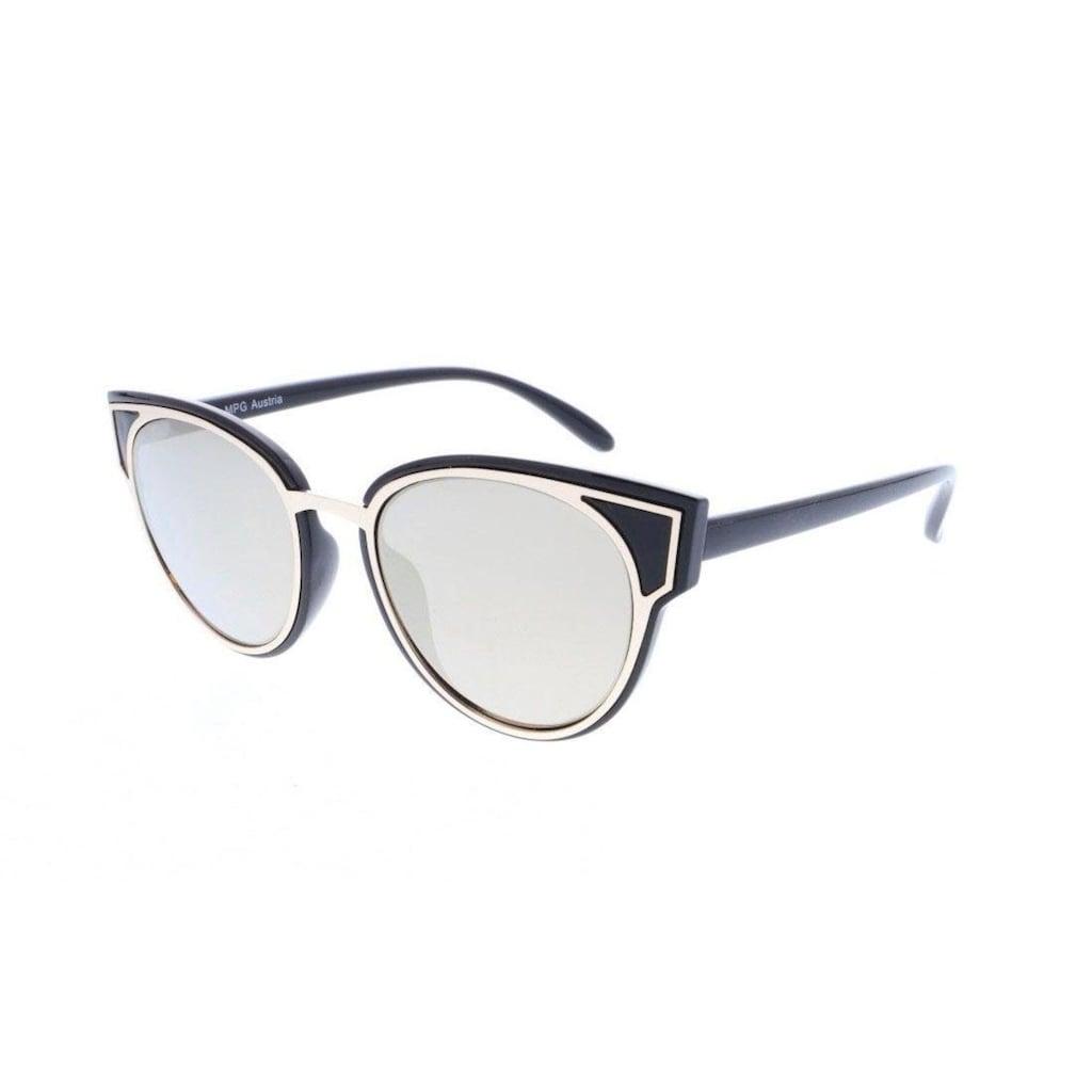 J.Jayz Sonnenbrille, mit goldfarbenener Metalleinfassung