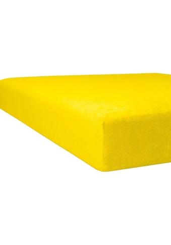 Kneer Spannbettlaken »Flausch-Frottee«, flauschig kaufen
