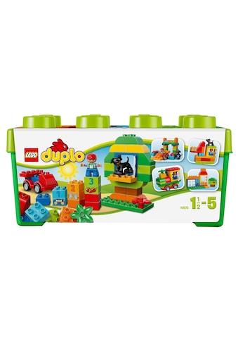 """LEGO® Konstruktionsspielsteine """"Grosse Steinebox (10572), LEGO® DUPLO®"""", Kunststoff, (65 - tlg.) kaufen"""