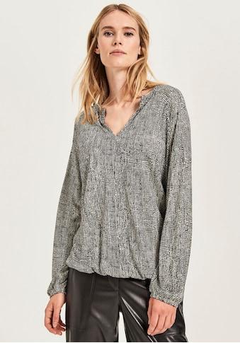 OPUS Blusenshirt »Sobama«, mit elastischen Bündchen kaufen