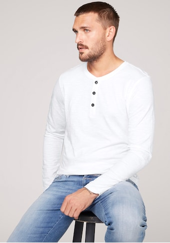 CAMP DAVID Langarmshirt, mit Logostickerei kaufen