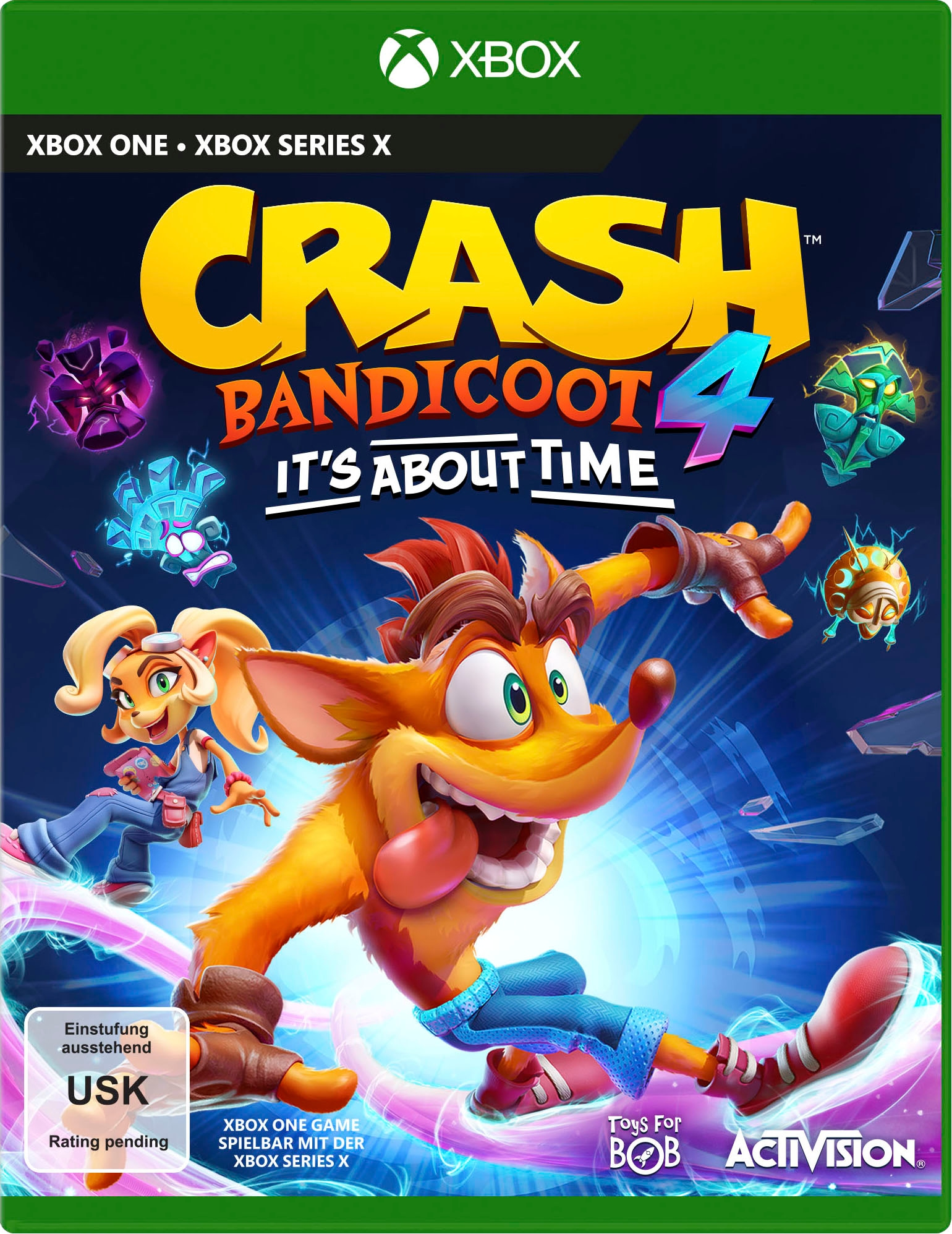Image of Activision Spiel »Crash Bandicoot 4 - It´s About Time«, Xbox One